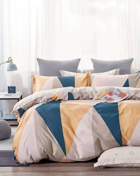 MERKURY MARKET Bavlnená saténová posteľná bielizeň ALBS-01198B