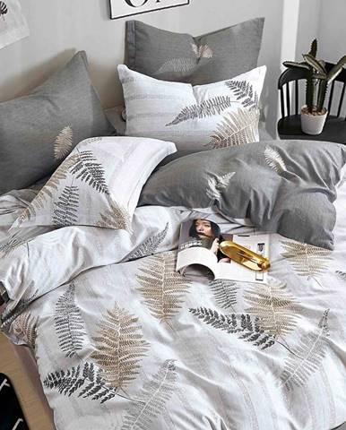 Bavlnená saténová posteľná bielizeň ALBS-01128B