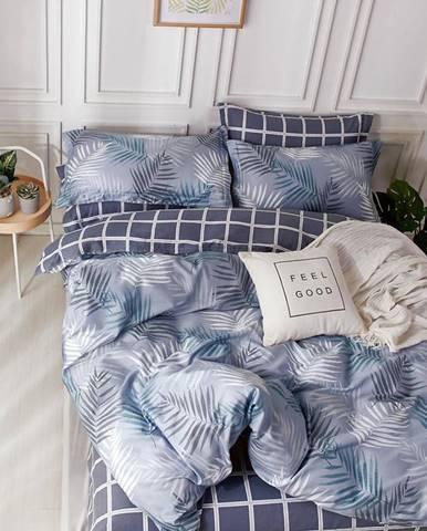 Bavlnená saténová posteľná bielizeň ALBS-01206B