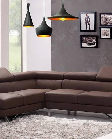 Lampa Modern 1C 305466 LW1 čierna