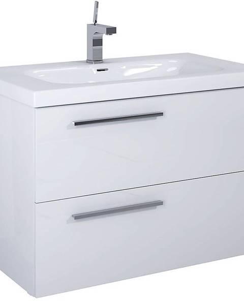 MERKURY MARKET Kúpeľňová skrinka pod umývadlo Royal 90 2S biela DSM