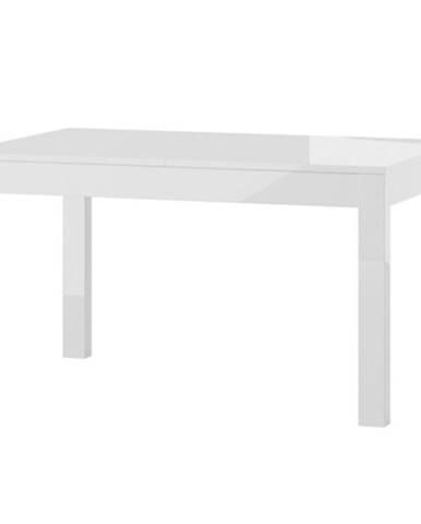 Stôl Jowisz Biela Lesk