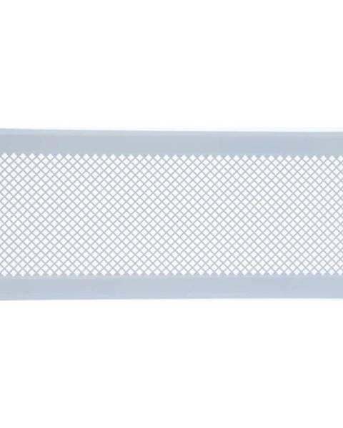 MERKURY MARKET Vetracia mriežka K5-ML-B biely rám 195x485