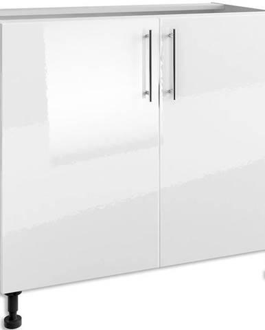 Kuchynská skrinka Luna White PO 100/2
