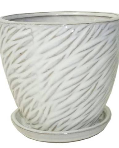 Kvetináč R842-19/19/17.5 biela