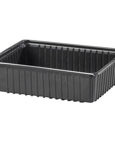 Miska výsevná plastová čierna 19x14cm