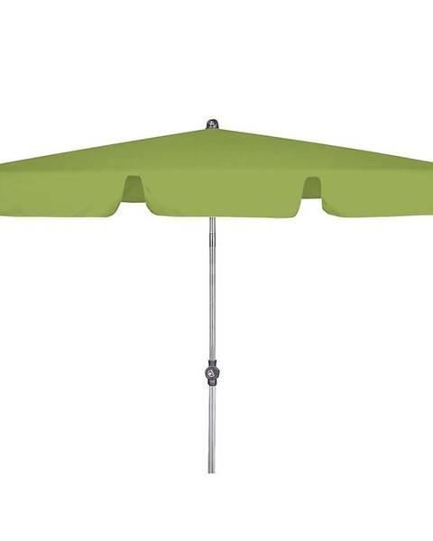 MERKURY MARKET Zahradný slnečník ACTIVE 180x120 cm zelená