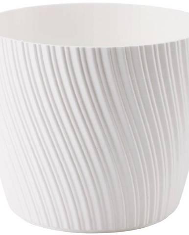 Kvetináč Mika 17 cm biely