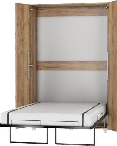Sklápacia posteľ Teddy 120 craft zlatý