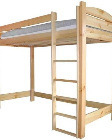 Poschodová posteľ I borovica