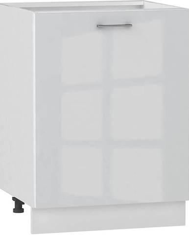 Skrinka do kuchyne Alvico D60PC P/L luxe blanco BB