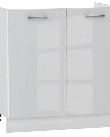 Skrinka do kuchyne Alvico D80ZL luxe blanco BB