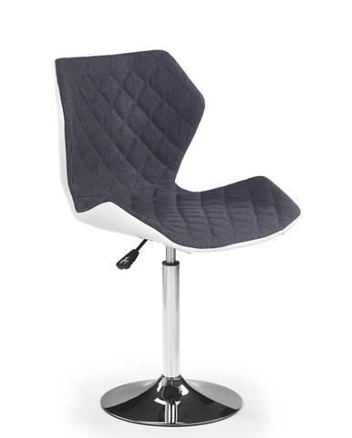 Matrix 2 barová stolička sivá