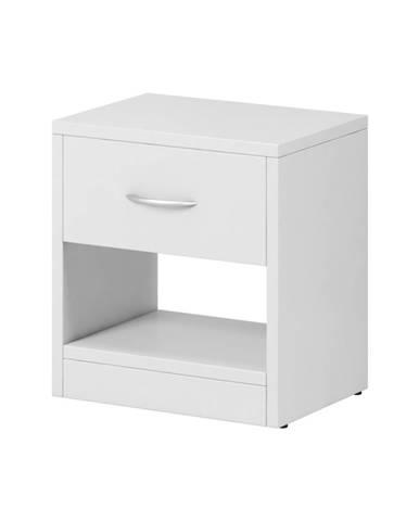 Naka 1S nočný stolík biela