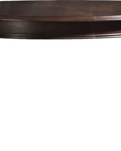 Verona V-1 rustikálny rozkladací jedálenský stôl hnedá