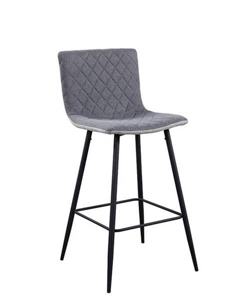 Tempo Kondela Torana barová stolička svetlosivá