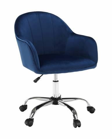 Erol kancelárske kreslo modrá