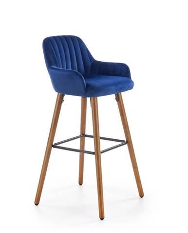 H-93 barová stolička granátová