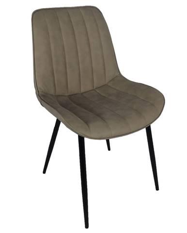 Hazal jedálenská stolička sivohnedá (taupe)