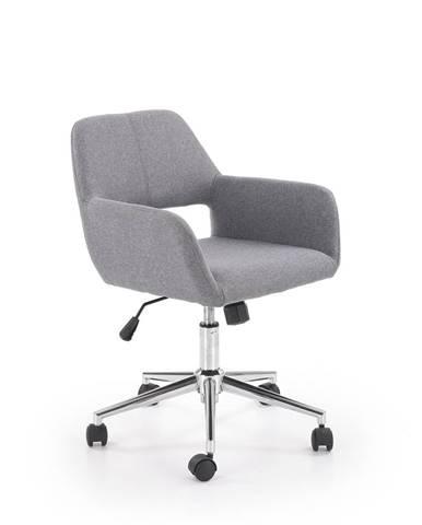 Morel kancelárska stolička sivá