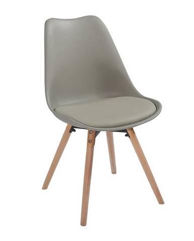 Semer New jedálenská stolička svetlosivá