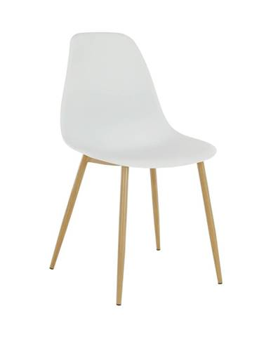 Sintia jedálenská stolička biela