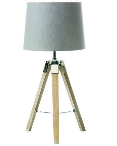 Jade Typ 2 stolná lampa sivá