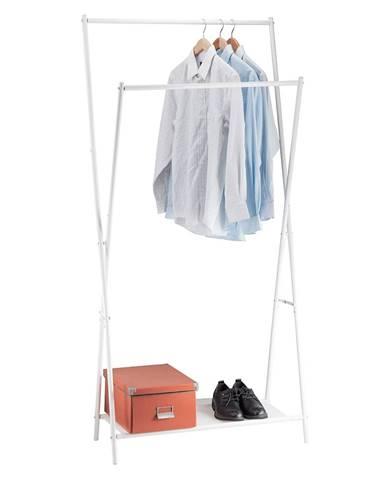 Julan kovový stojan na šaty biela