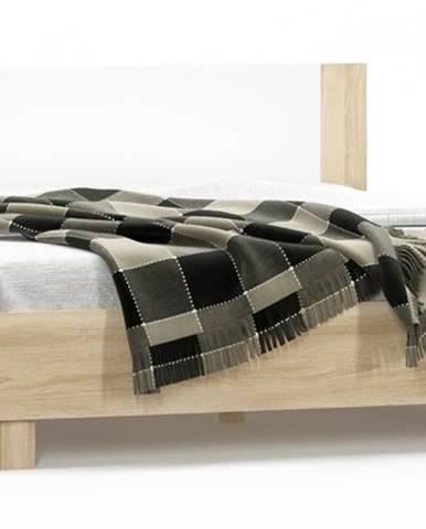 Markos 160 manželská posteľ s roštom dub sonoma