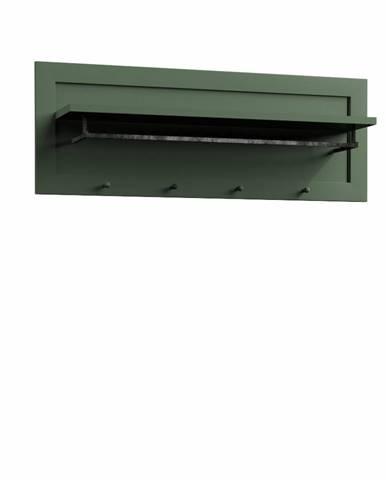 Provance WP vešiakový panel zelená