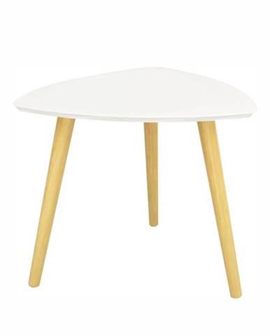 Tavas príručný stolík biela