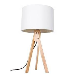 Lila Typ 1 stolná lampa biela