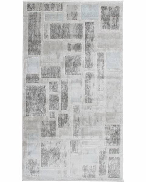 Kondela Heather koberec 200x285 cm svetlosivá