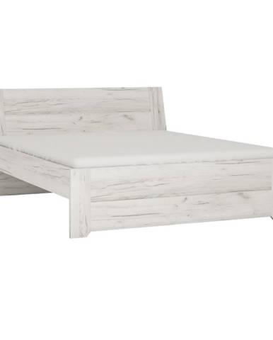 Angel Typ 92 180 manželská posteľ biela