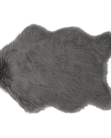 Ebony Typ 5 umelá kožušina 60x90 cm sivá
