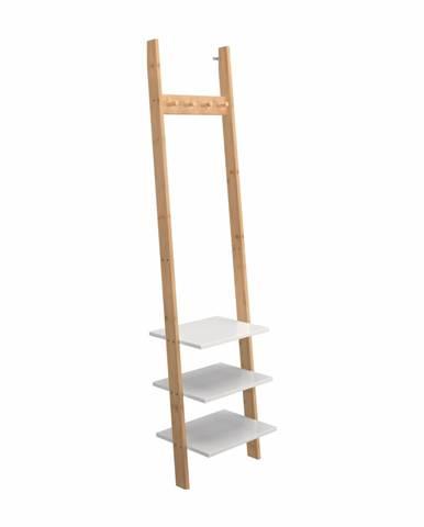 Marike Typ 1 drevený vešiak s policami bambus