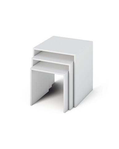 Sipani New príručný stolík (3 ks) biela