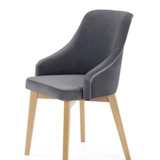 Toledo 2 jedálenská stolička dub medový