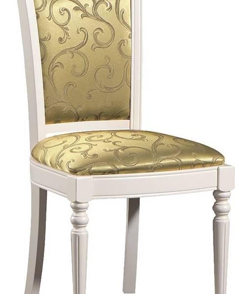 TARANKO Krzeslo M jedálenská stolička biela