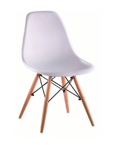 Cinkla 3 New jedálenská stolička biela