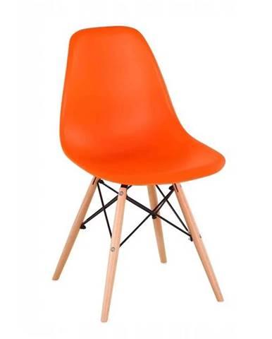 Cinkla 3 New jedálenská stolička oranžová
