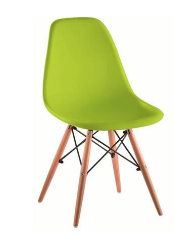 Cinkla 3 New jedálenská stolička zelená