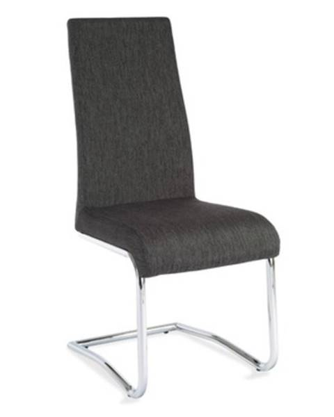 Tempo Kondela Amina jedálenská stolička svetlosivá