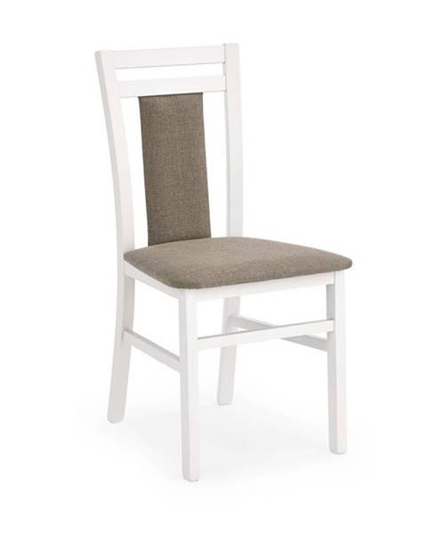 Halmar Hubert 8 jedálenská stolička biela