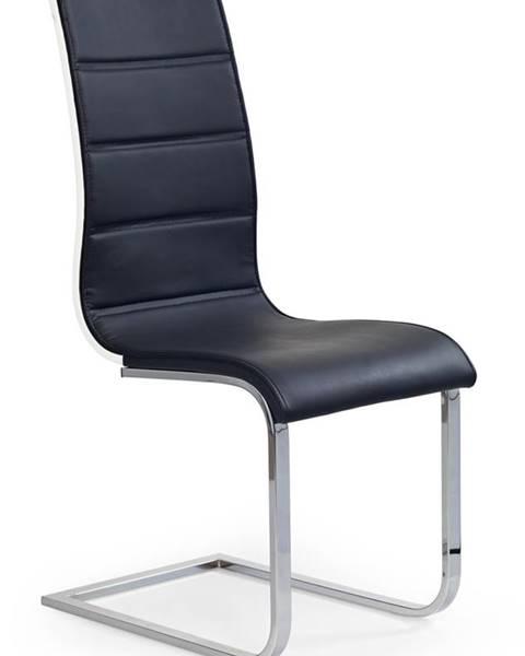 Halmar K104 jedálenská stolička čierna
