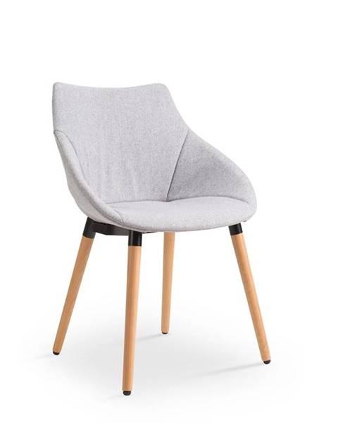 Halmar K226 jedálenská stolička svetlosivá
