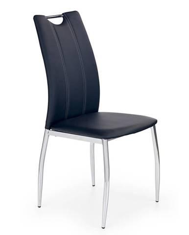 K187 jedálenská stolička čierna