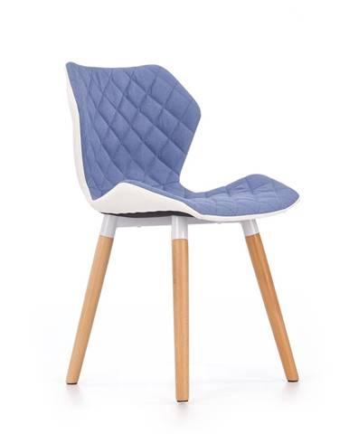 K277 jedálenská stolička modrá