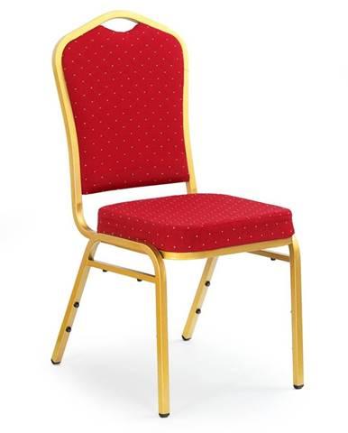 K66 jedálenská stolička bordová
