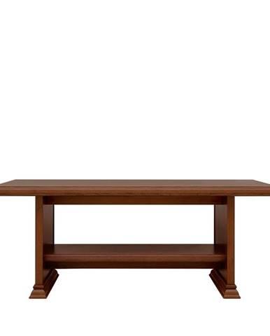 Kent ELAW130 rustikálny konferenčný stolík gaštan